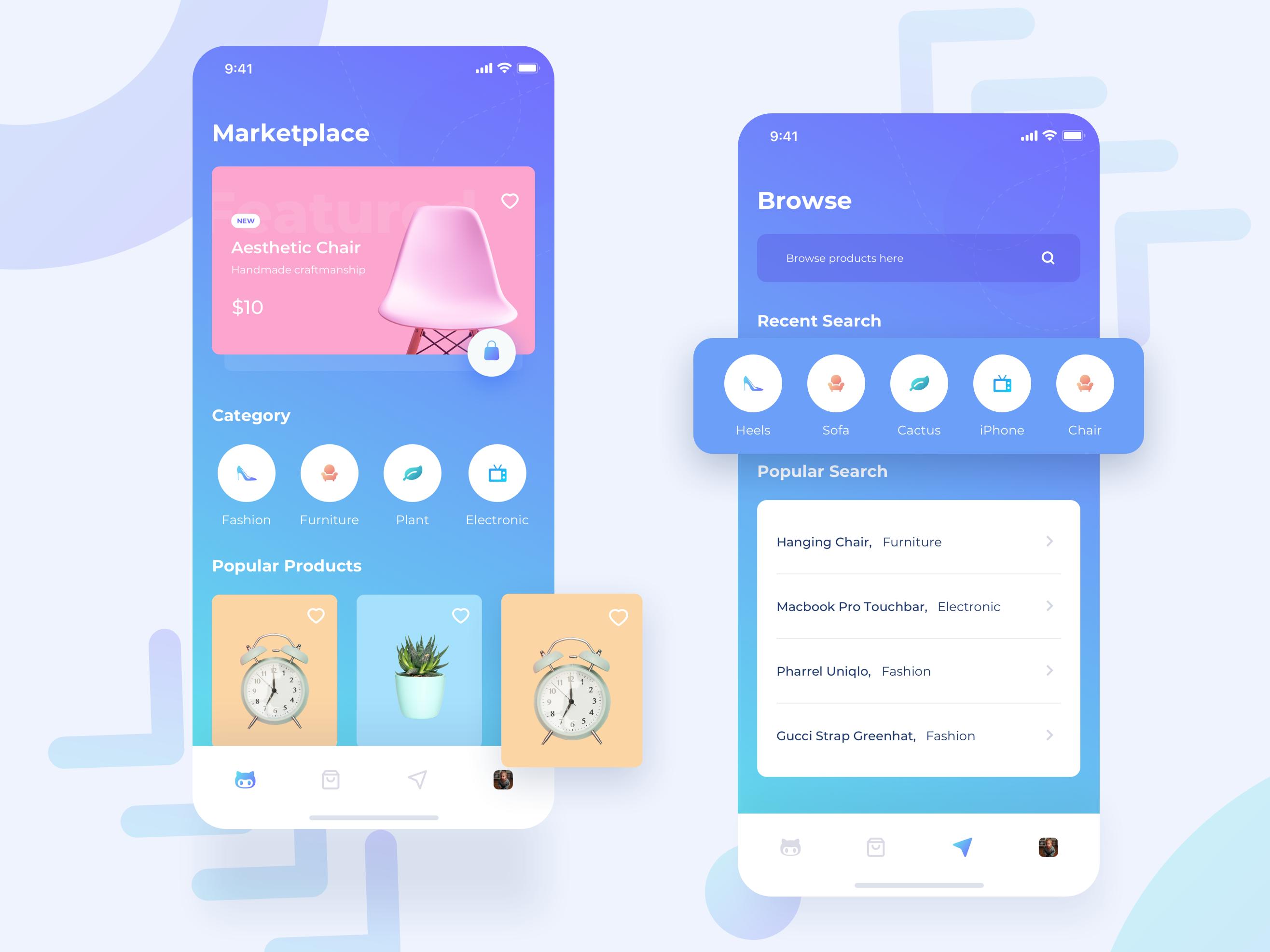 Keeper Marketplace App