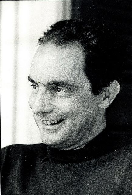 Italian journalist and writer of short stories and novels Italo Calvino (Oct. 15, 1923-Sept 19, 1985)