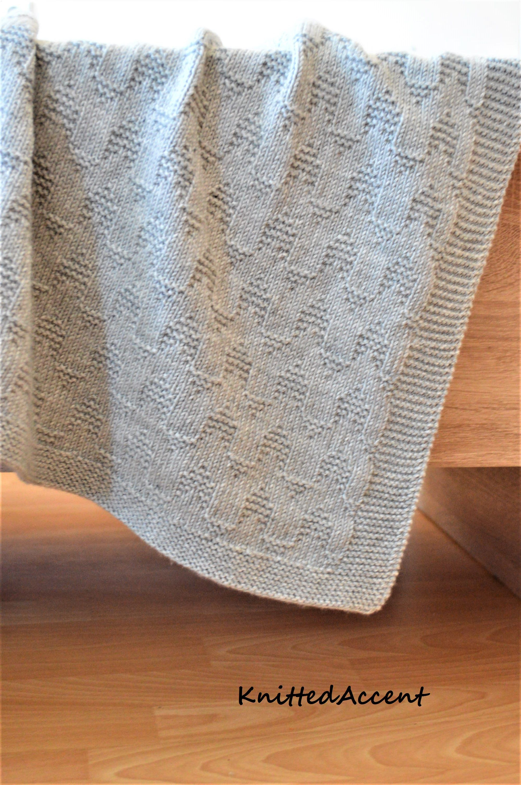 Knitting patternonly in english written instructions with