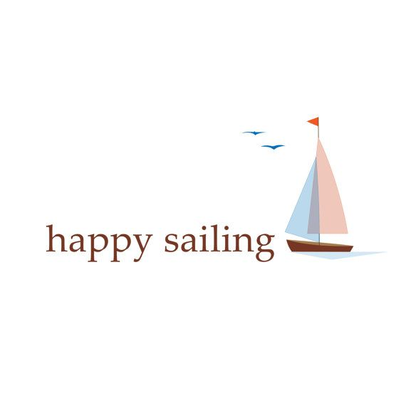 Progressive Logo Design For You Choose The Text Style To: Sail Boat Logo Design, Customizable Pre-made, OOAK Modern