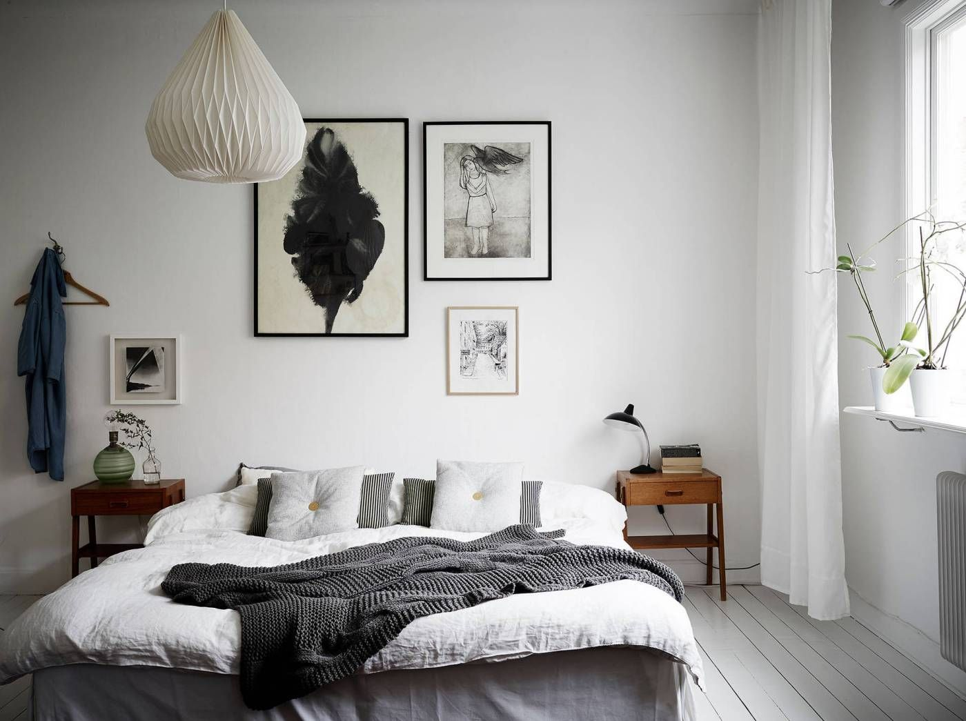 Slaapkamer Met Kunstmuur : Vintage and bright white fuseta pinterest interieur