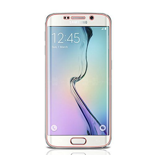Galaxy S6 Edge Screen Protector, amFilm Full Screen Coverage (Edge to Edge) HD Clear (Invisible) Screen Protector for Samsung Galaxy S6 Edge with Lifetime Replacement Warranty (2-Pack)   Galaxy S6 Edge Screen Protector, amFilm Full Screen Coverage (Edge to Edge) HD Clear (Invisible) Screen Protector for Samsung Galaxy S6 Edge with Lifetime Replacement Warranty (2-Pack)     Introducing amFilm Premium HD Clear (Invisible) Screen Protectors for your Samsung Galaxy S6 Edge.     Note: The..