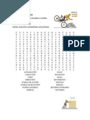 Sopa De Letras Nivel 1 Memo Word Search Puzzle Words