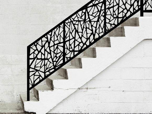 tole en d coupe laser inspiration antonio gaudi pour entretenir une rambarde ou la prot ger. Black Bedroom Furniture Sets. Home Design Ideas