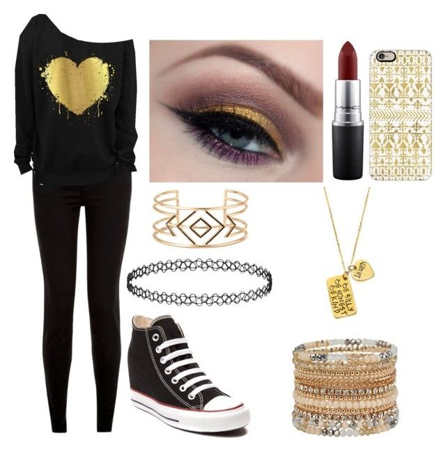 """""""Beta Club"""" by stargirl134 on Polyvore featuring Converse, Stella & Dot, MAC Cosmetics, Casetify, Alisa Michelle and ALDO"""