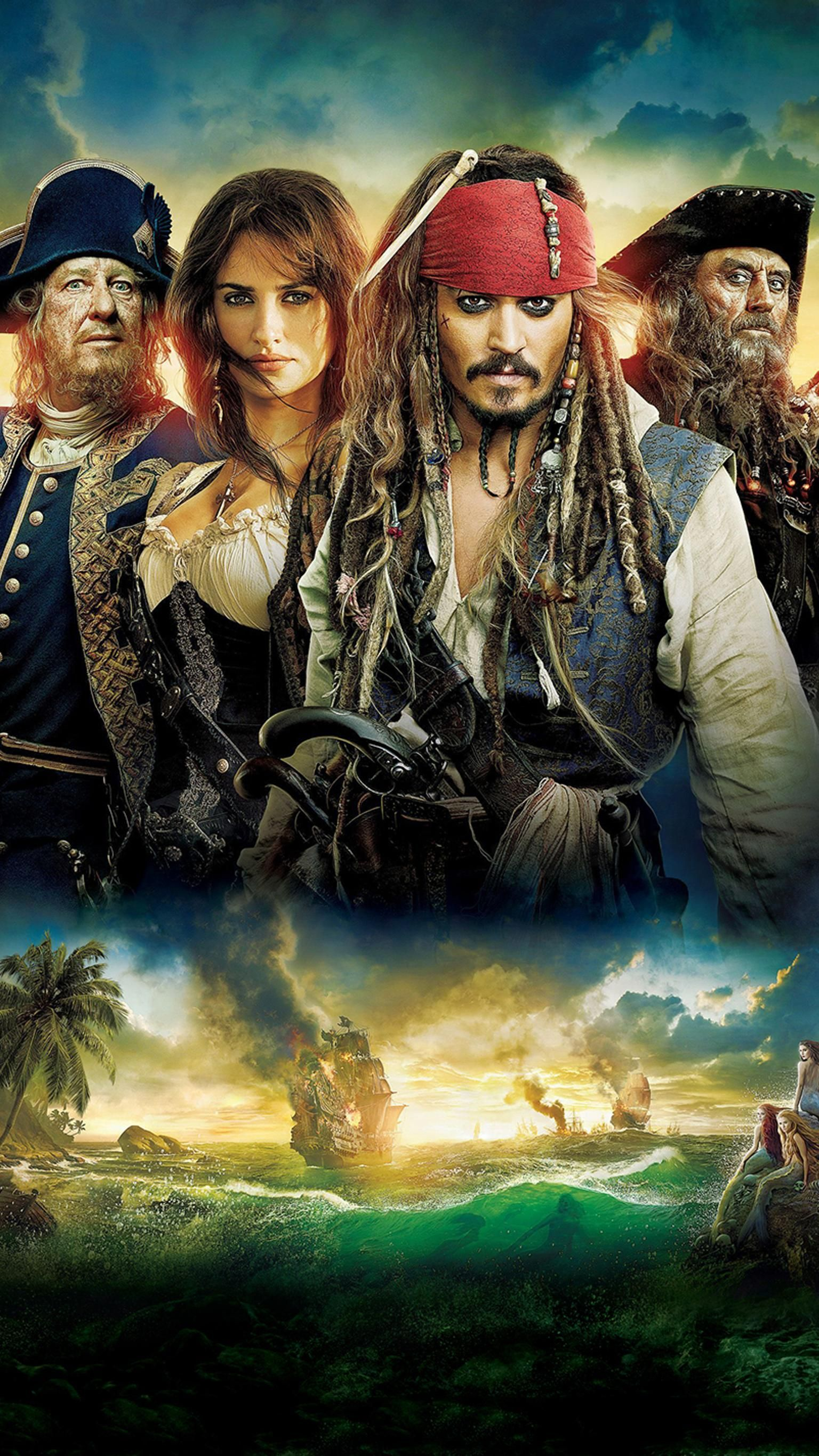Pirates Of The Caribbean On Stranger Tides 2011 Phone Wallpaper