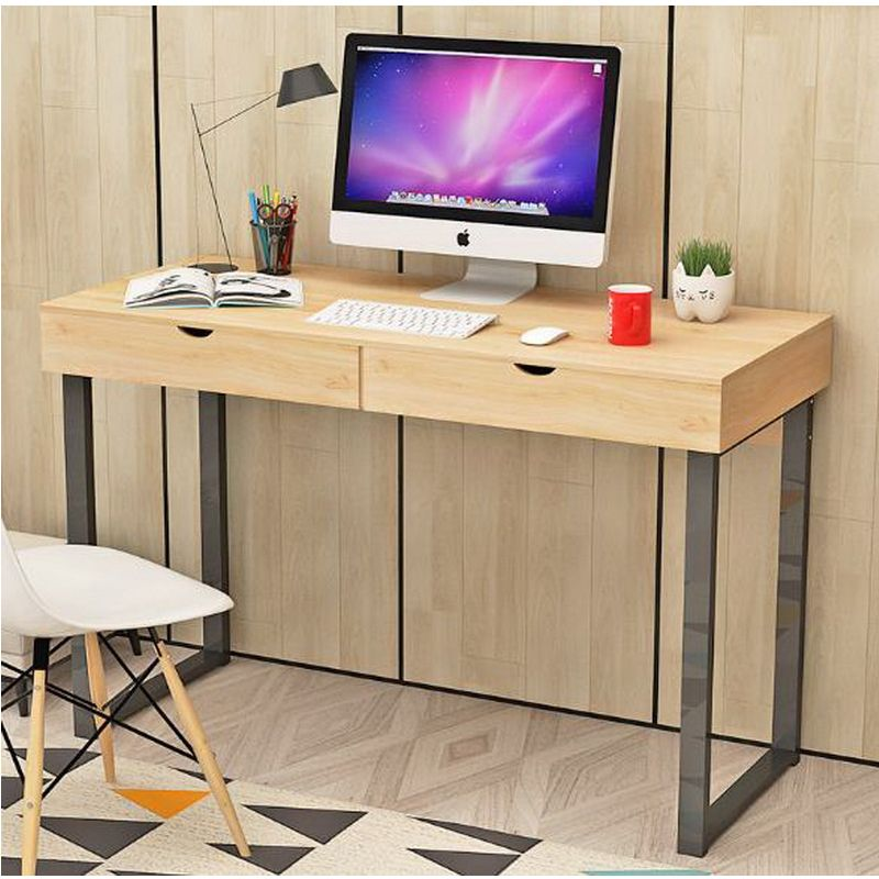 250613/Desktop Computer Desk / Home Modern Desk / Simple Table / Laptop  Table/Spacious Key Design/Stable Steel Frame //Price: $US $378.00 U0026 FREE  Shipping //