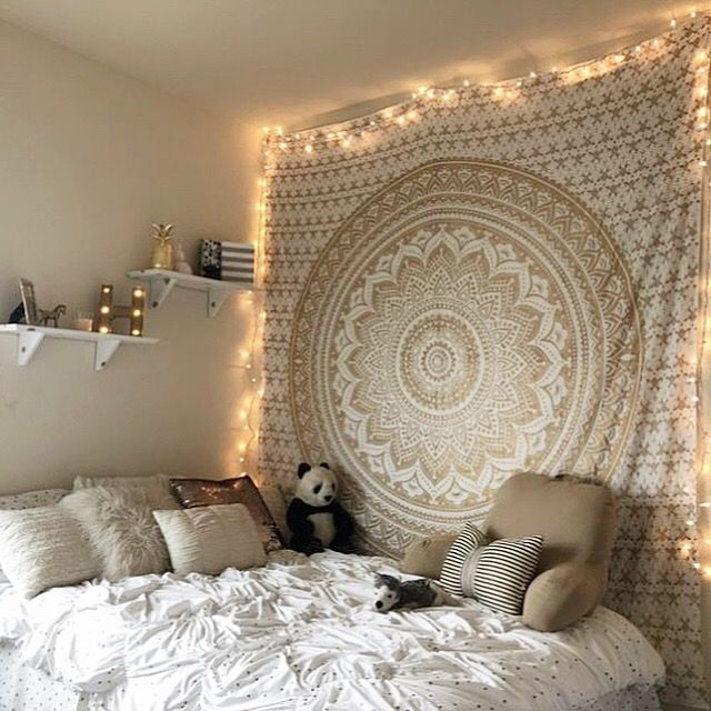 Tapestry Bedroom Ideas Background