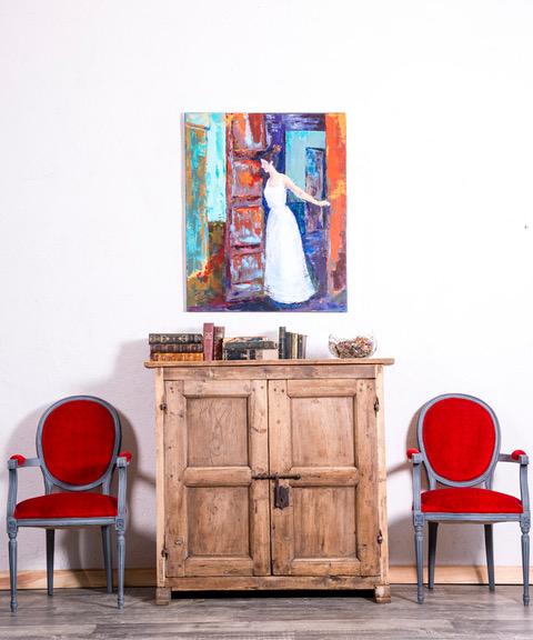 DECORACIÓN IDEAL CON SUELOS OSCUROS  #decolovers #interiordesign #lovedeco #passiondeco #mueblesmadrid #estiloantique #antique
