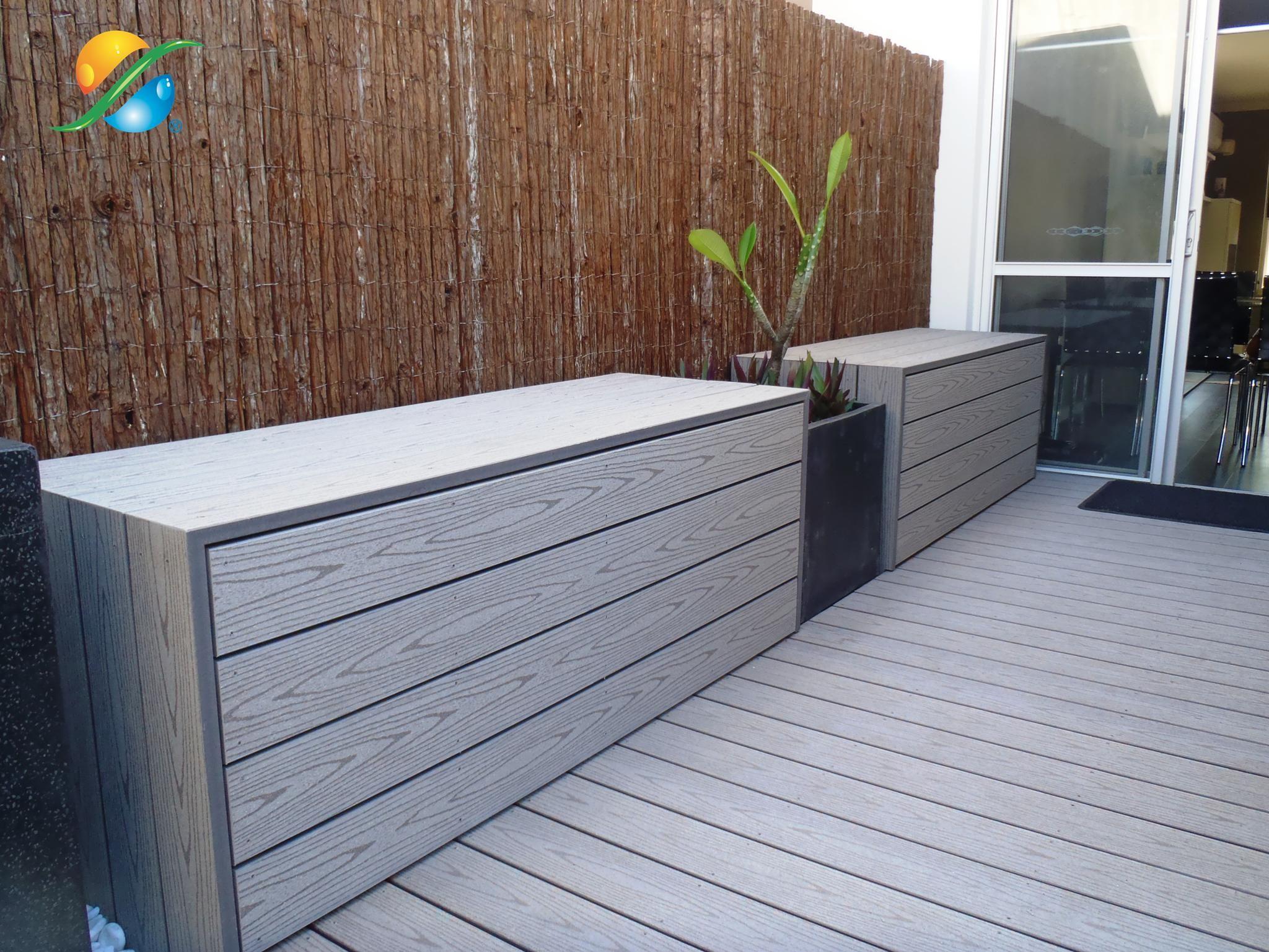 outdoor storage Outdoor storage bench, Garden