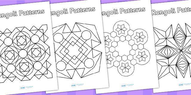 Rangoli Patterns Templates Rangoli Patterns Template