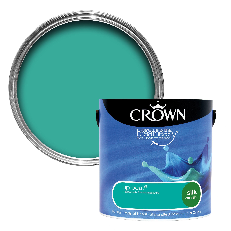 Crown Breatheasy® Upbeat Silk Emulsion Paint 2.5L