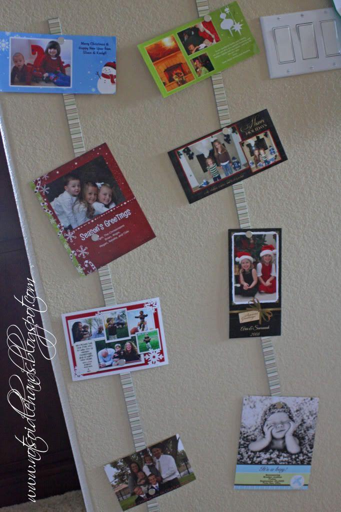 Magnetic Card Hanger Holiday--Christmas Pinterest Christmas