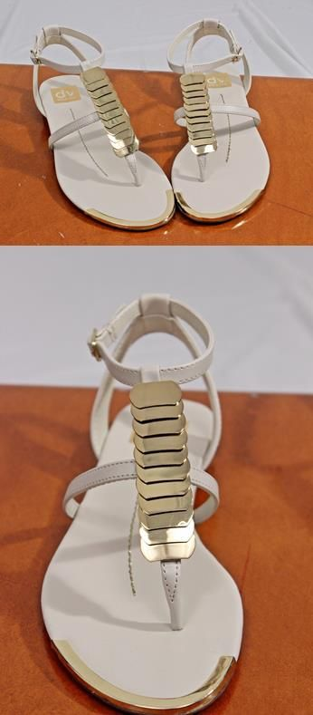 Gold discs pop on this go with everything neutral sandal from Dolce Vita