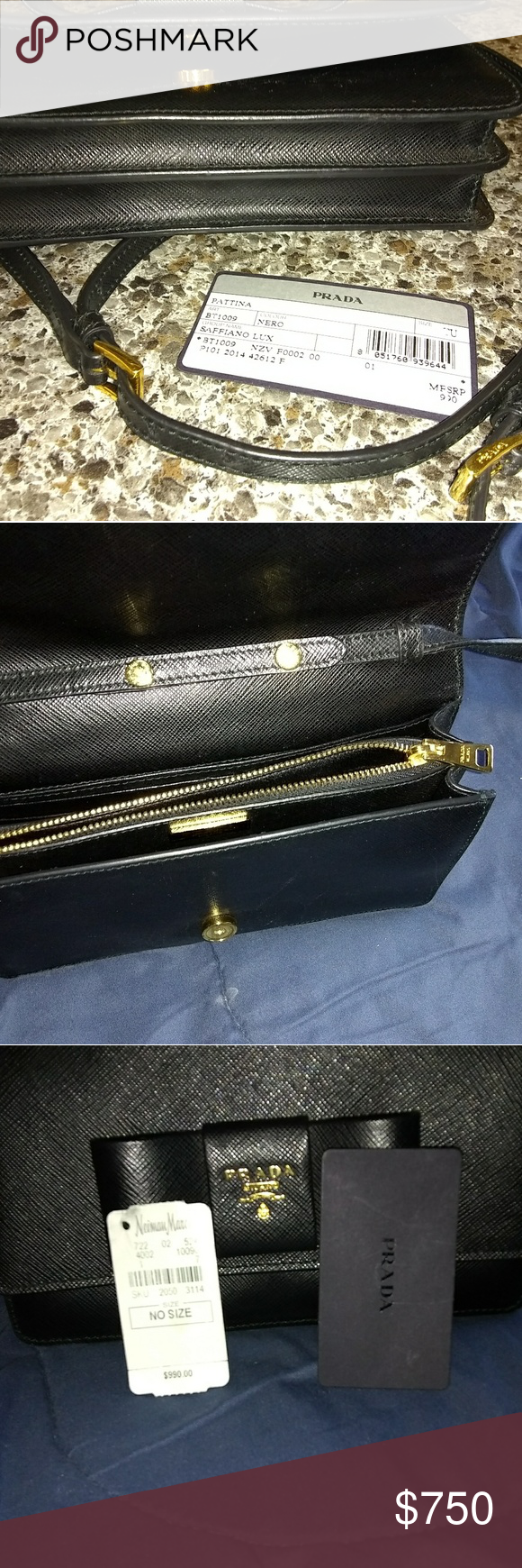 8637afbf1b7884 Prada Purse Never used, great condition . Ready to let go to the right  person. Asking 750 obo. Prada Bags Mini Bags