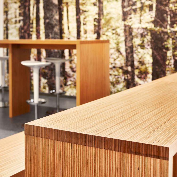 furniture #table #Wood #baubuche #beech #pollmeier #kitchen ...