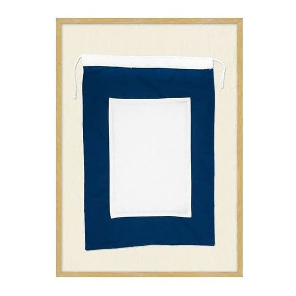 Pottery Barn Framed Nautical Flag P ($159) ❤ liked on Polyvore ...