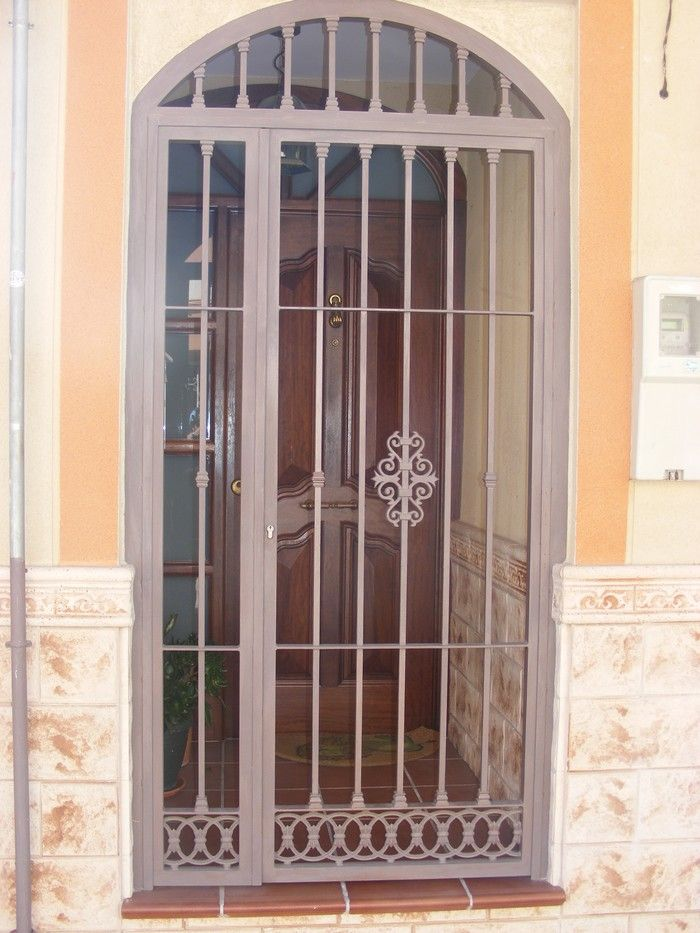 Cancelas de hierro cancelas pinterest iron iron work and doors - Cancelas de hierro ...