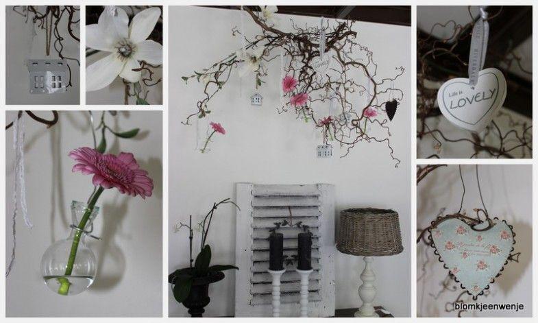 Diy Met Takken : Diy gedecoreerde takken interieur inspiratie diy decoratie