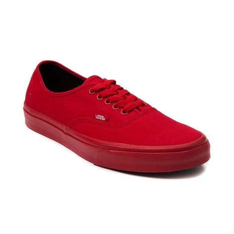 7d0d260dc084 Shop for Vans Authentic Skate Shoe in Red Mono at Shi by Journeys. Shop  today for the hottest brands in womens shoes at Journeys.com.