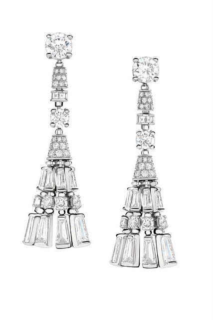 Bulgari Chandelier earrings