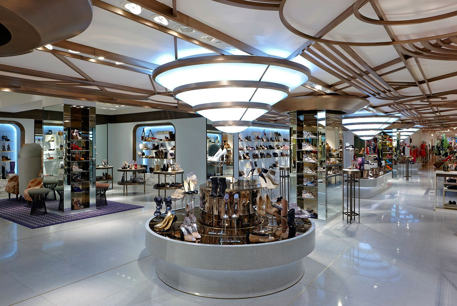 Harrods Shoe Salon Shed Interior Architecture Amp Design
