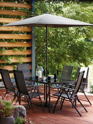 Homebase Andorra 6 Seater Garden Furniture Set 243701 £199.00 ...
