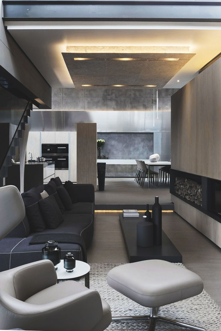 Cool Contemporary And Luxury House Designs Uk Interer Belye Interery Dizajn Doma