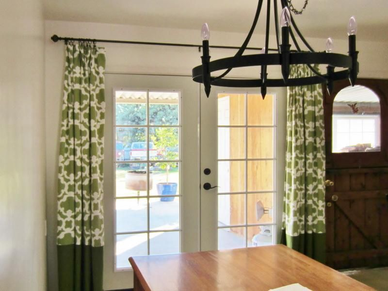 Extra Long Curtain Rods For Dining Room