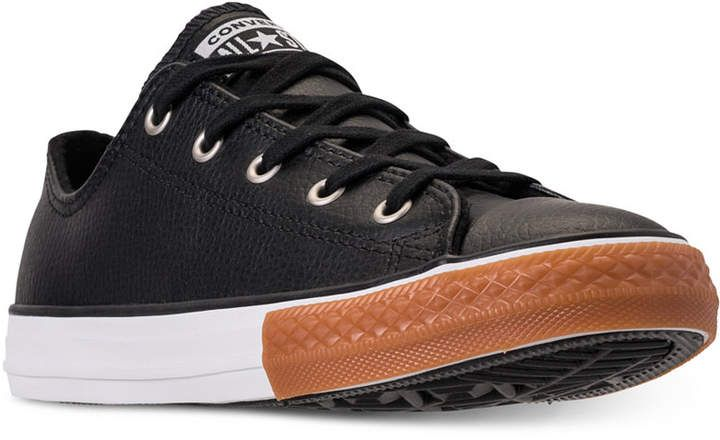 560fca4248dd Converse Boys  Chuck Taylor Ox Gum Casual Sneakers from Finish Line ...