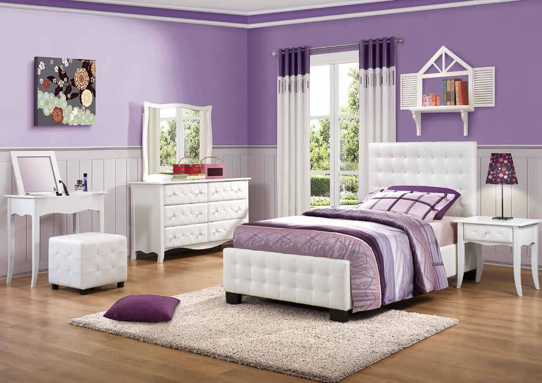 Bedroom Sets For Girls Purple BedroomDesign Ideas Fabulous Full