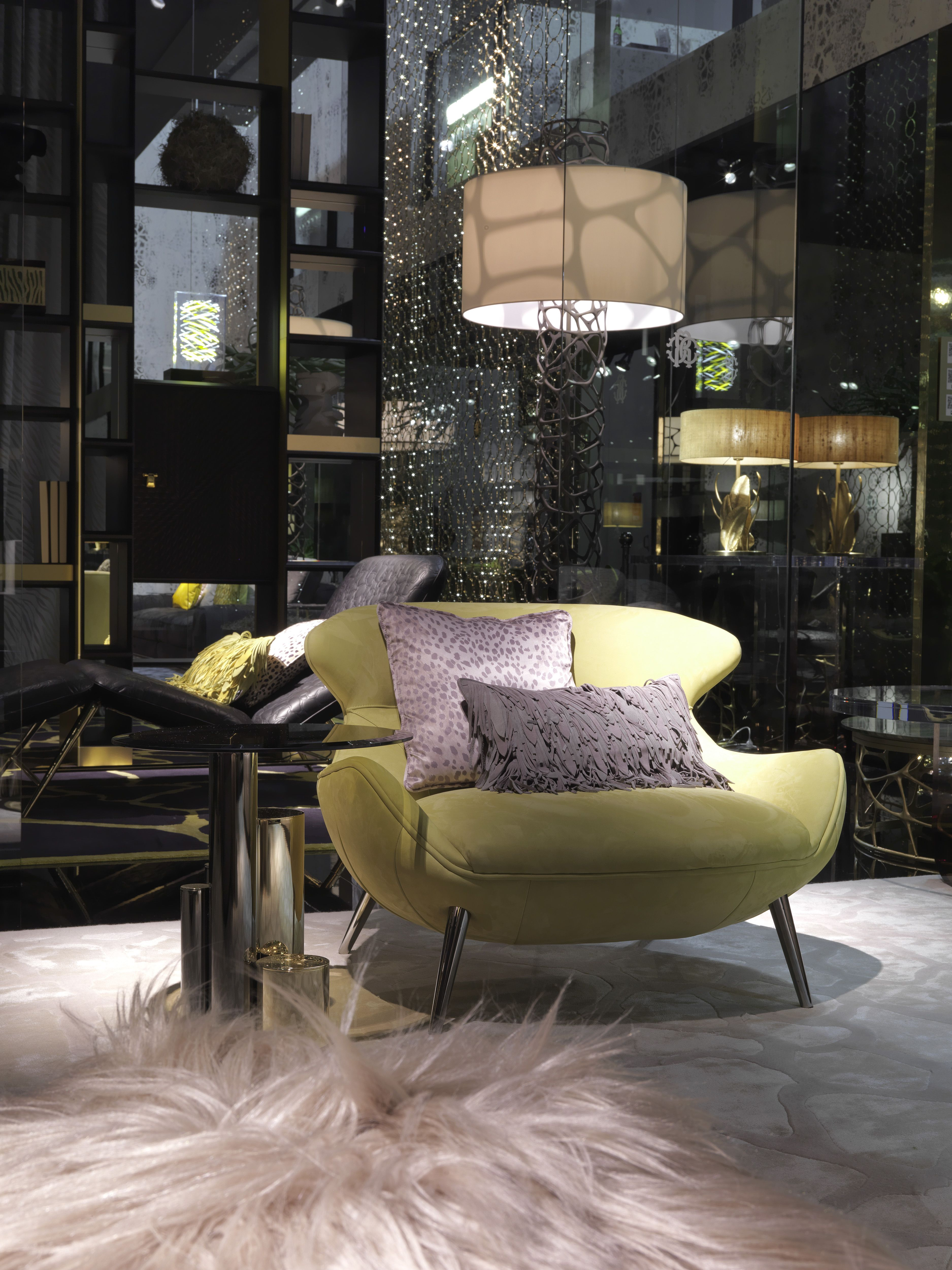 roberto cavalli home interiors 2018 collection previewed at salone