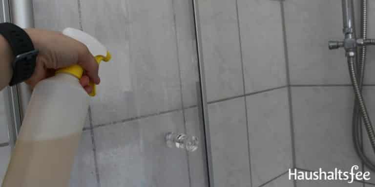 Kalk Glasduschwand Richtig Reinigen Glasduschwand Duschwand