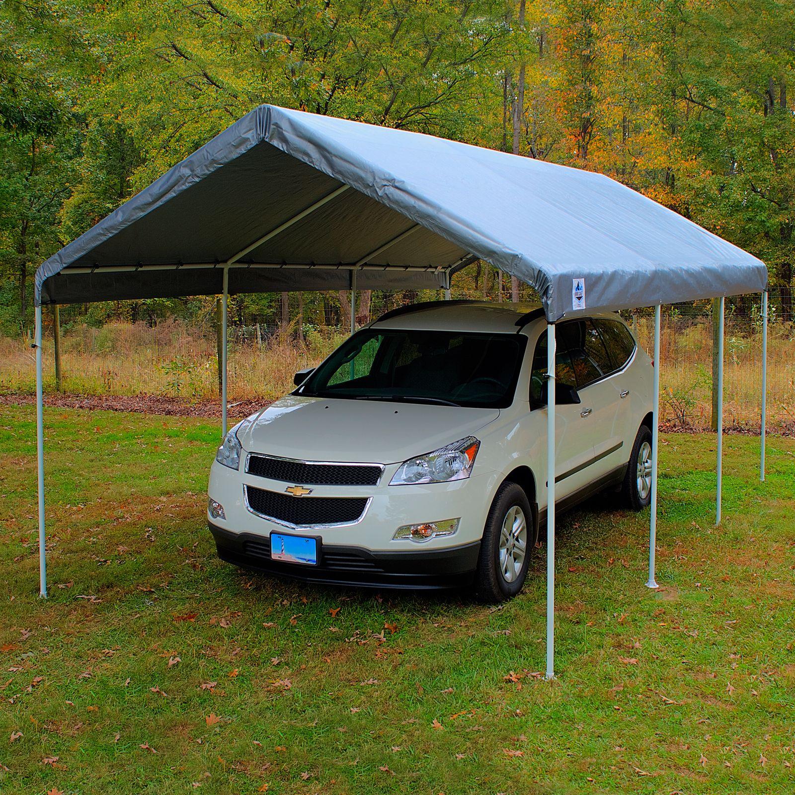King Canopy Universal Canopy 10x20 8Leg Silver