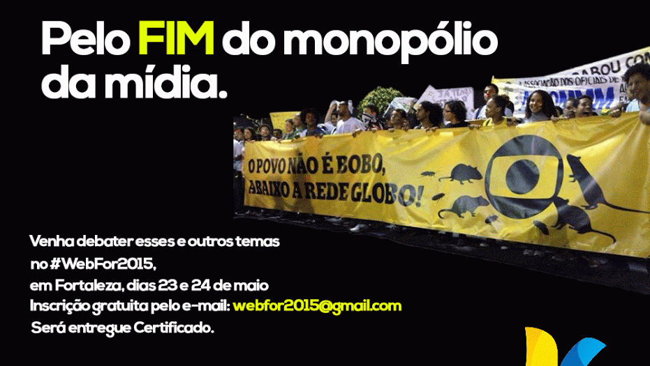 Se informe, mobilize, não fique por fora de decisões importantes que dizem respeito a todos nós brasileiros. Não transfira seu exercício de cidadania, seu poder de decisão. Paticipe, compartilhe!