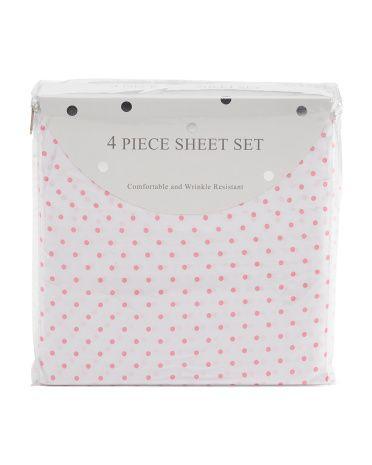 Polka Dot Sheet Set