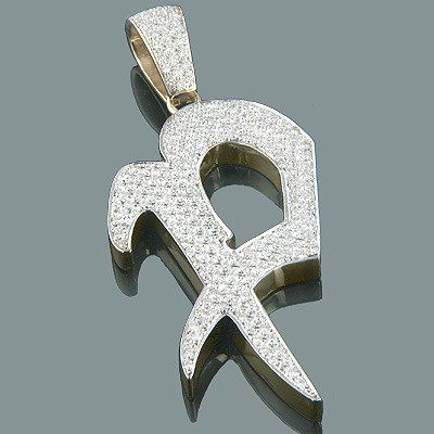 14k gold alphabet custom made initial diamond letter pendant 495 14k gold alphabet custom made initial diamond letter pendant 495ct aloadofball