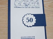 Karte Als Geldgeschenk Geburtstag Alter Sack Mit Bildern