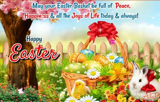 Send These Warm Beautiful Easter Greetings To Your Family