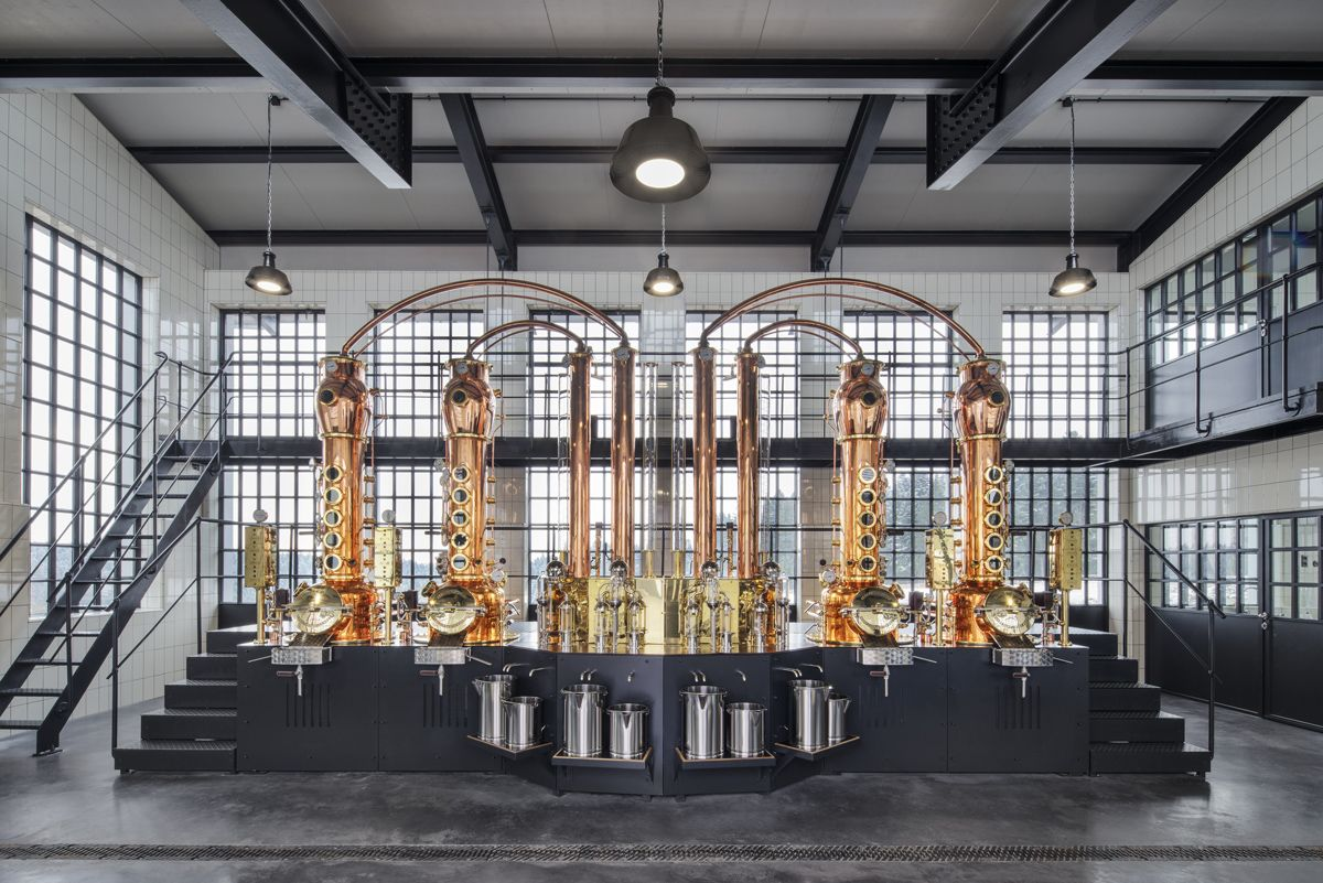 Philipp Mainzer Renovated This Distillery Complex In Germany S