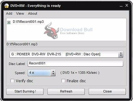 Easy Disc Burner 5.1.1.517 Free Download For Windows