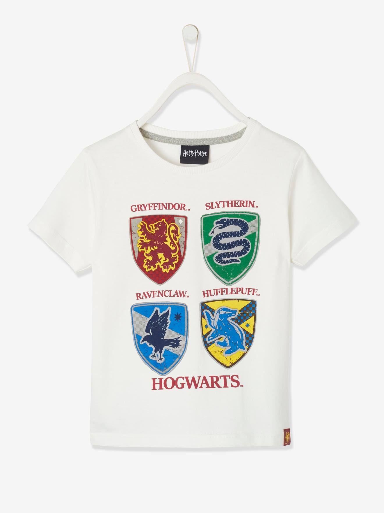 Harry Potter Logo Enfants Unisexe T-shirt blanc