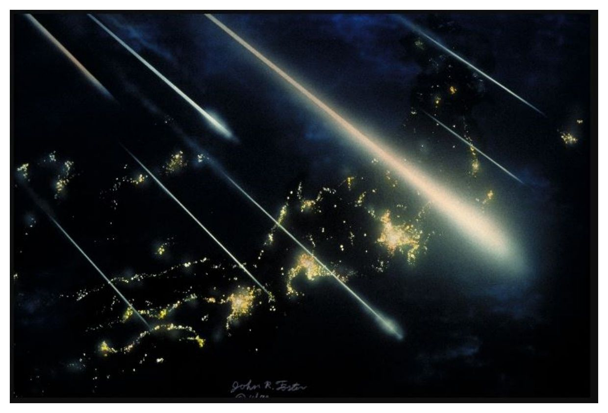 Meteor Shower Live Tonight Wallpaper Free Download Meteor