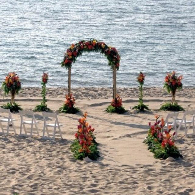 Beach Wedding Ceremony Michigan: Our Beautiful Wedding On Lake Michigan! Kirk Park, Holland