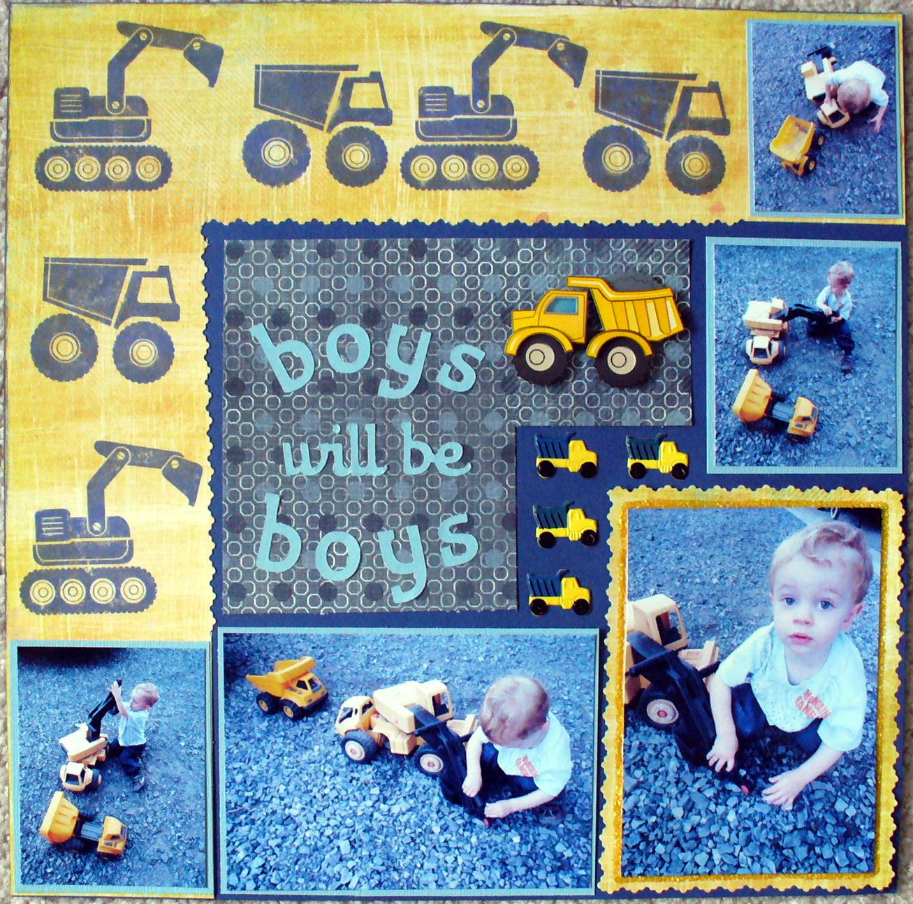Ds2 Trucking Scrapbook By Lamoo12 Scrapbooking Ideas
