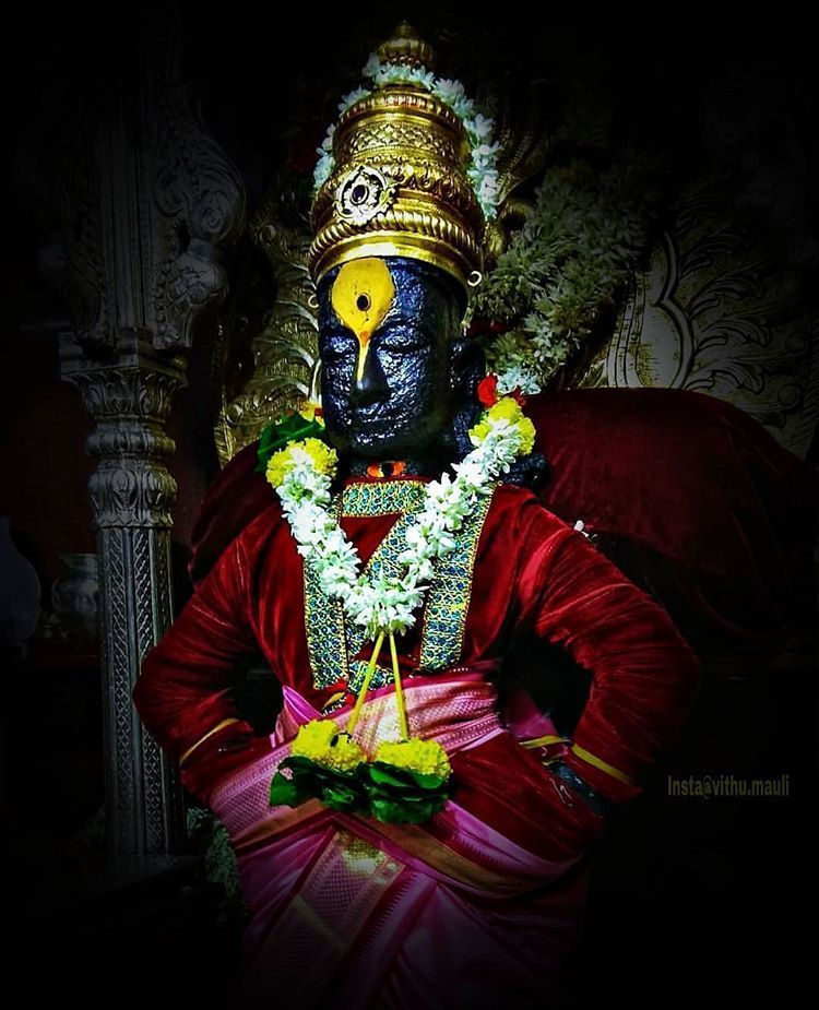 Lord Vithal Or Panduranga Vittala Is An Incarnation Of Lord Vishnu And Is Worshipped In The World Famous Panda Lord Vishnu Ganesh Lord Lord Ganesha Paintings
