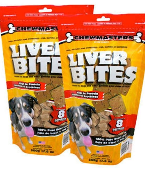 Chewmasters Freeze Dried Beef Liver Bites 17 6 Oz 2 Count Beef