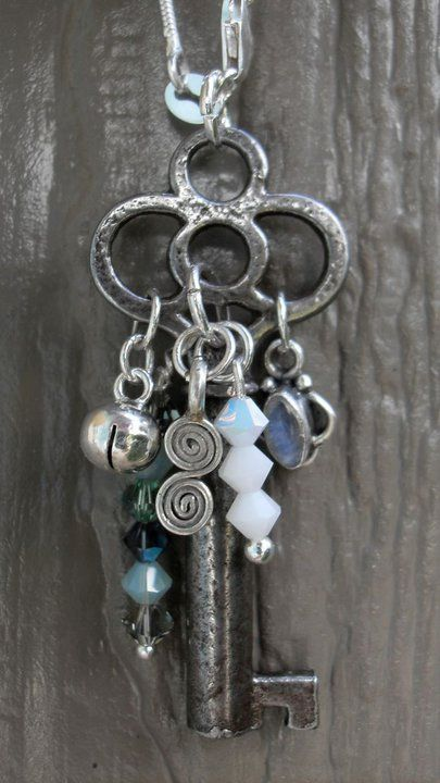 Charmed Key, like the placement of he baubles on the key ...