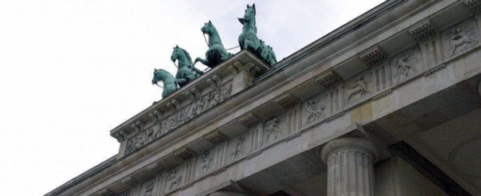 Brandenburger Tor In Berlin Brandenburger Tor Tor Berlin
