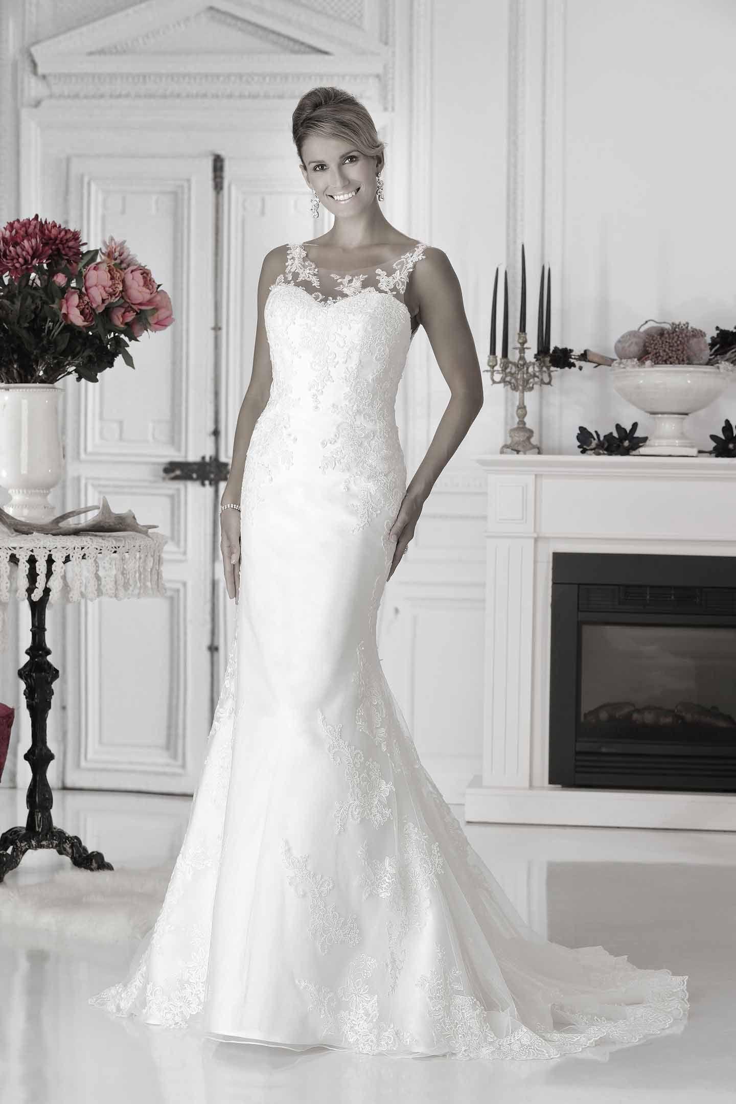 Wedding Dress Fishtail Pure - PU9908 | Pure 2017 | Pinterest ...